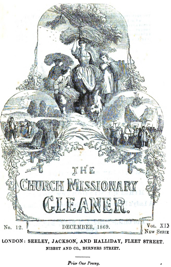 The Church Missionary Gleaner