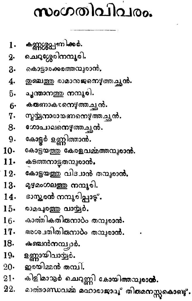 കേരള കവികൾ - ഒന്നാം ഭാഗം - കൊട്ടാരത്തിൽ ശങ്കുണ്ണി - 1918